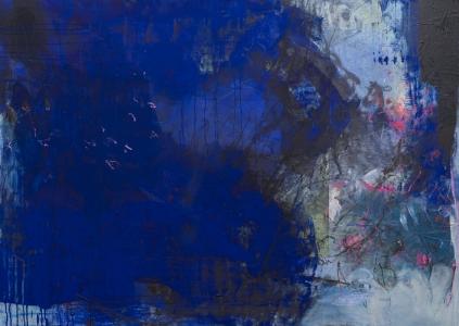 Blues 100 x 140 cm Pappwabenplatte