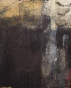 Phoenix in der Asche 160 x 130 cm Leinwand