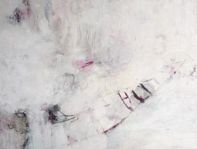 Asche zu Staub 130 x 170 cm Leinwand *verkauft*