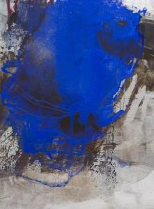 Freischalten (Blues V) 120x90 cm Holz *verkauft*