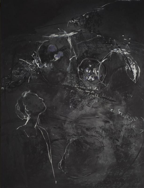 Hommage an Mascha I 180 x 130 cm Leinwand