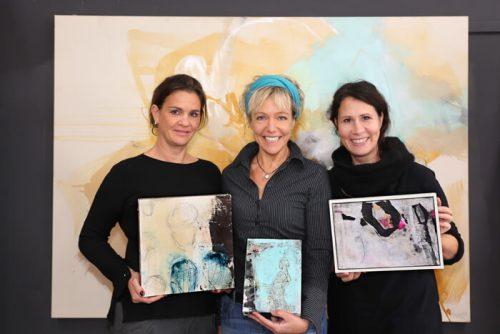 Elisabeth Feist, Katja Gramann, Andrea Rozorea