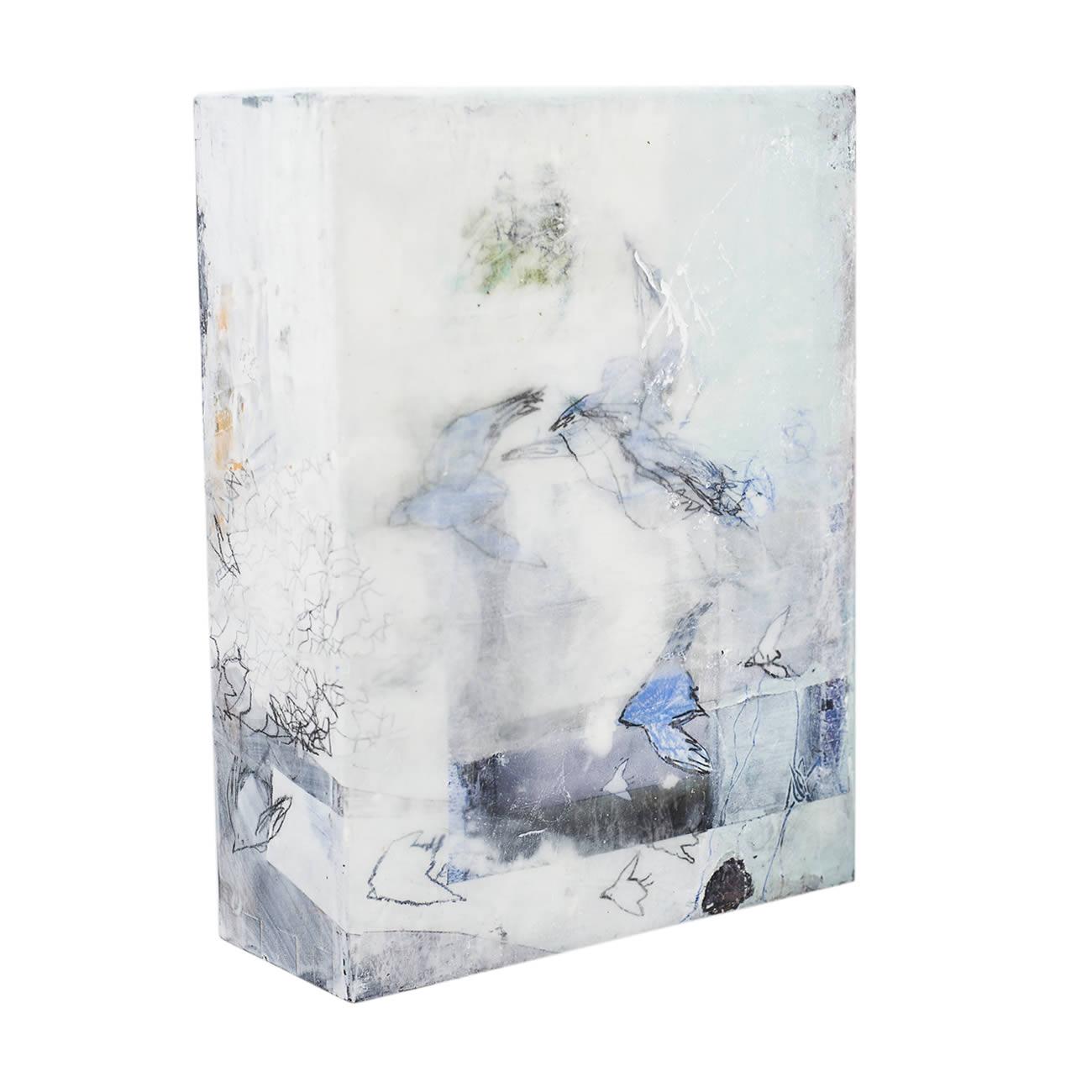 Andrea Rozorea - Galerie Kleine Formate: Leiser Abflug