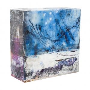 Andrea Rozorea - Galerie Kleine Formate: Dem Schwingen lauschen