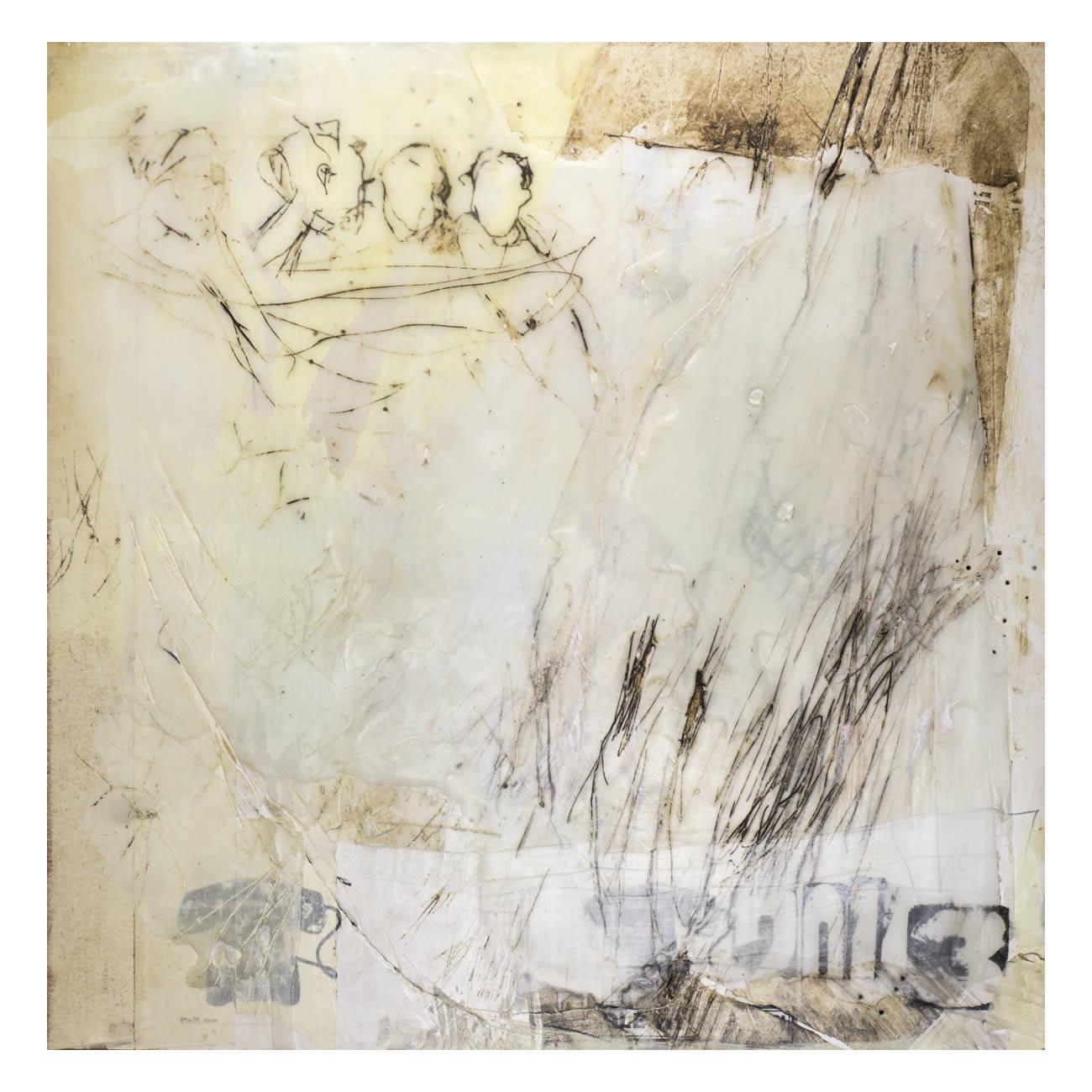 Andrea Rozorea - Galerie: Zeichnung unter Wachs - Konspiration